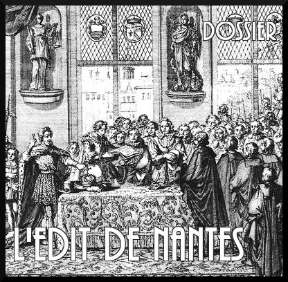 Edit de Nantes : le dossier