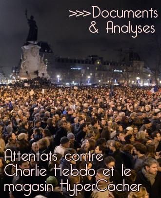 Lien vers la liste des articles sur les attentats contre Charlie Hebdo et le magasin HyperCacher