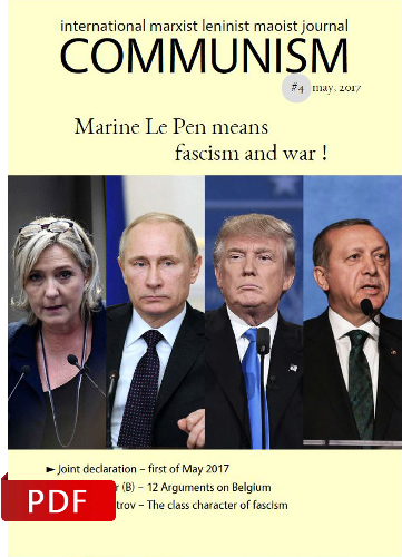 Communism #4 - Marine Le Pen means fascism and war !