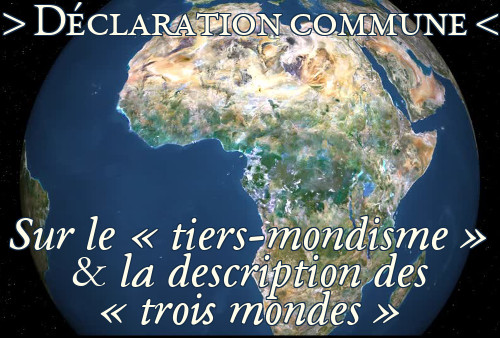 Lire le document international sur le Tiers-mondisme et la description des trois mondes