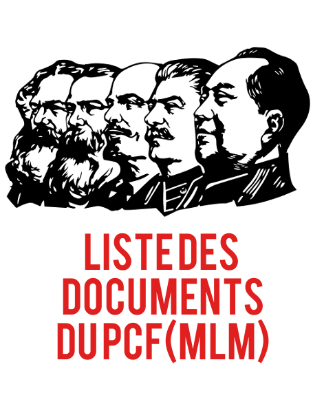Liste des documents du PCF(MLM)