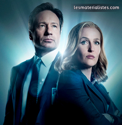 Affiche X-Files Fox Mulder et Dana Scully
