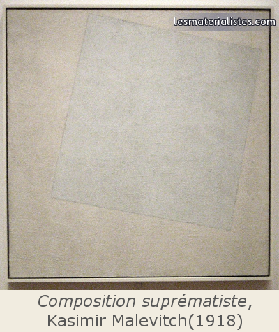 Composition suprématiste, Kasimir Malevicth (1918)