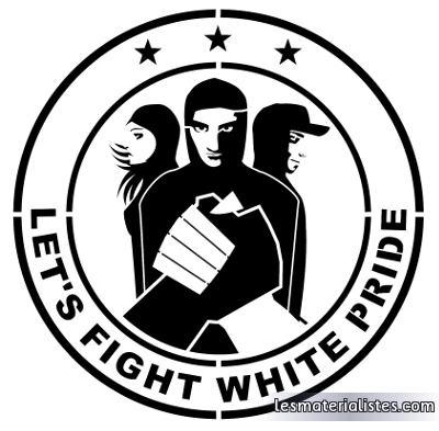 Let's fight white pride !