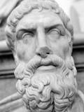 Portrait sculpté d'Épicure