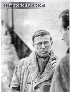 sartre essays in existentialism summary Being and nothingness: an essay on sartre's existentialism shares its philosophical summary in the introduction, sartre sketches his own.