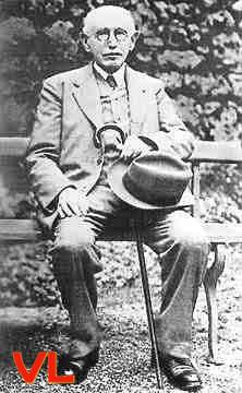Photo d'Alfred Dreyfus, peu de temps avant sa mort
