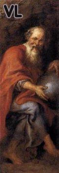 Peter Paul Rubens (1603) Démocrite