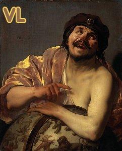 Hendrick ter Brugghen (1628) Démocrite