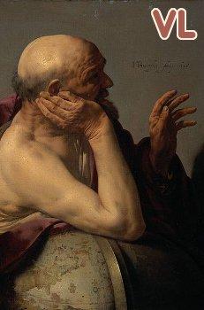 tableau de Hendrik ter Brugghen (1628) Heraclitus