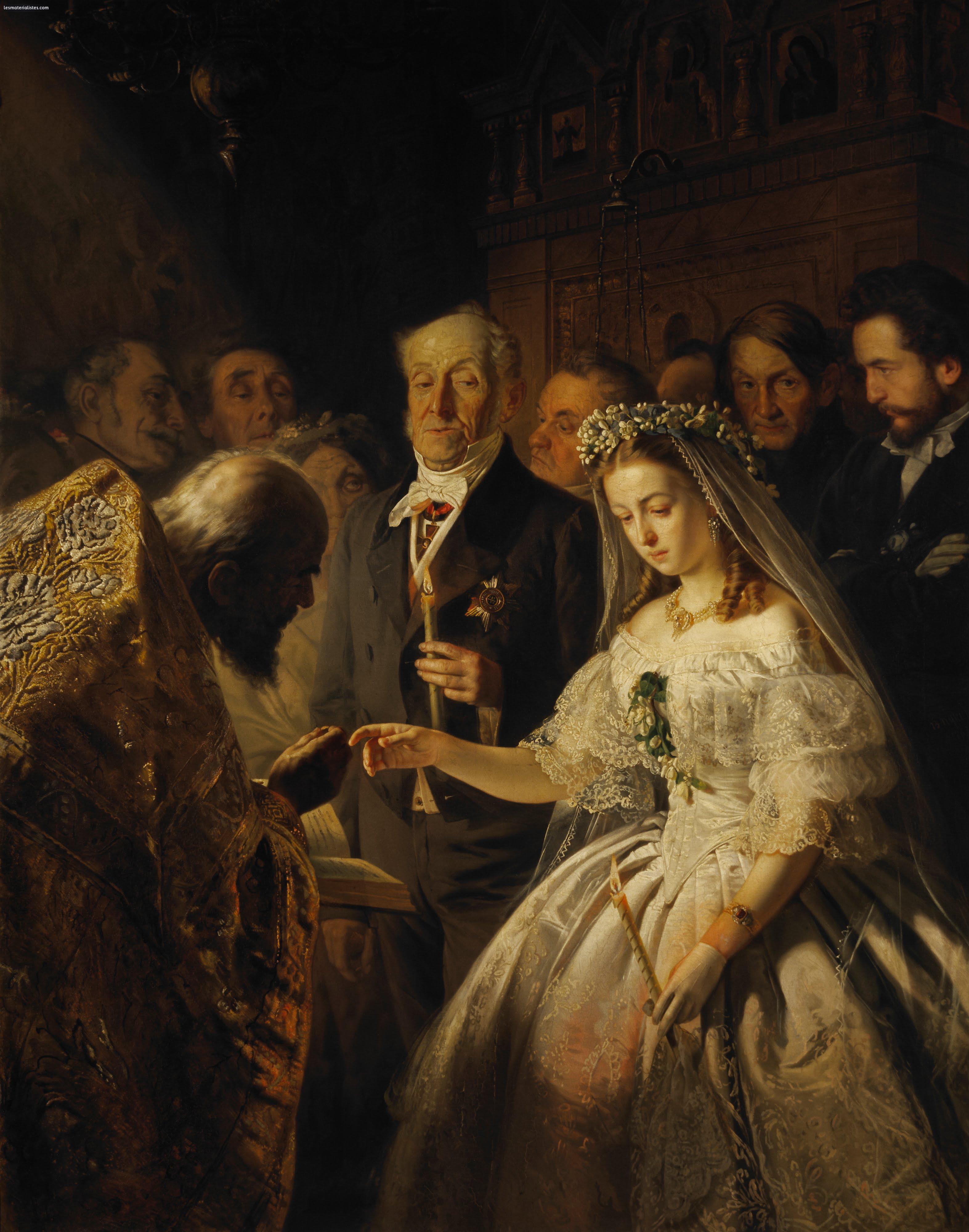 Ordre russe mariée russe