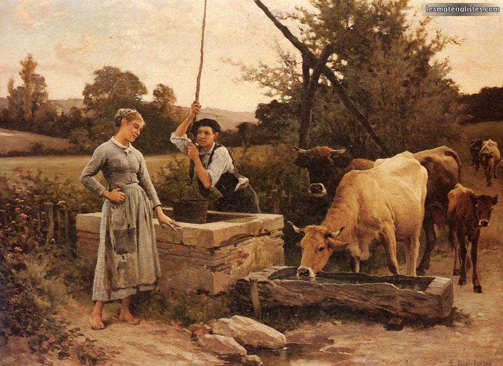 Courbet laug e millet breton 9e partie debat ponsan for Combien prend un peintre au m2