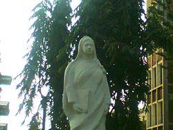 Stature de Rokeya Sakhawat Hussain