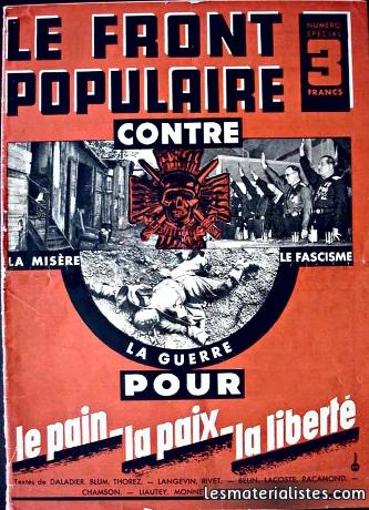 Le Parti Communiste français - 5e partie : Le Front populaire |  lesmaterialistes.com